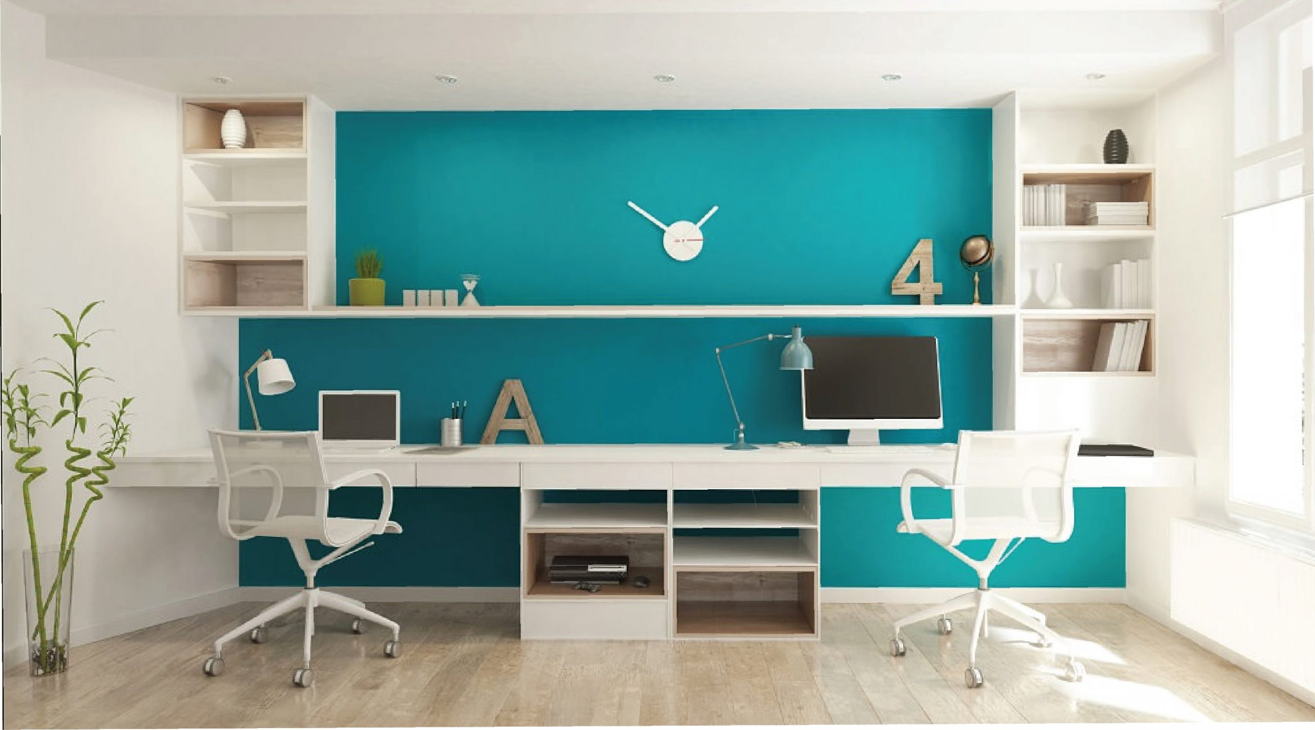 Home offices and study spaced. Work where you live!