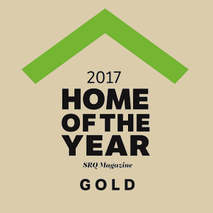 2017 winner SRQ Magazine HOTY Gold