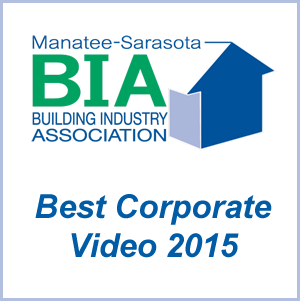 Manatee Sarasota Building Association Best Corporate video 2015.