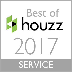 voted best of houzz service 2017