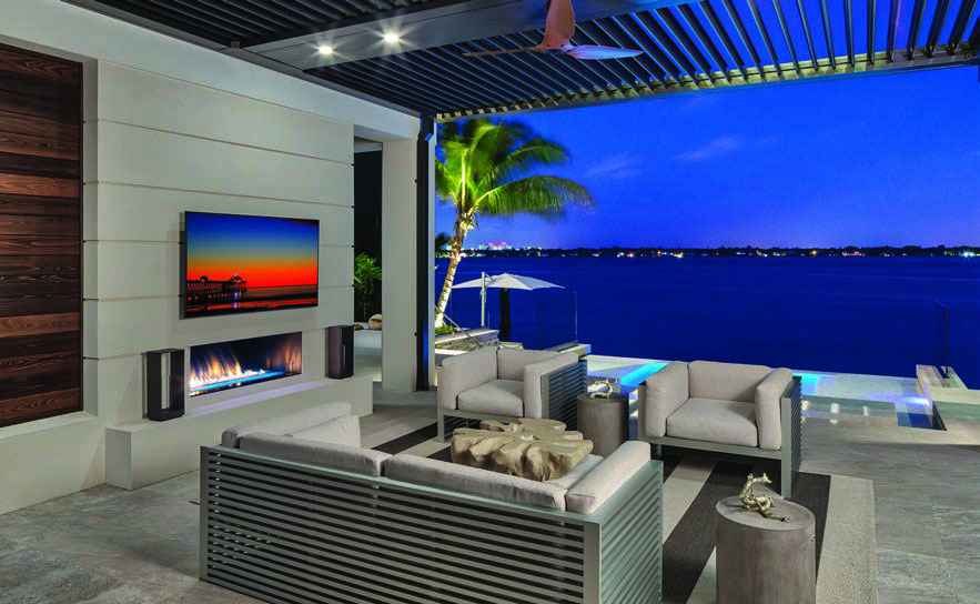 Modern Home On Bird Key