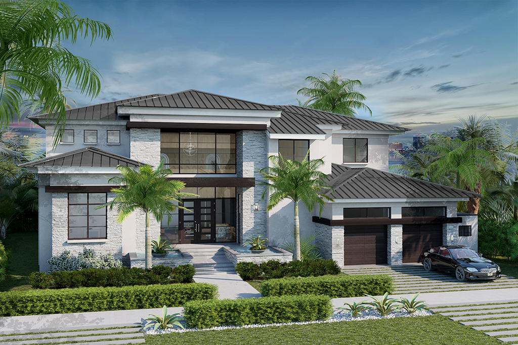 Luxury spec homes by sarasota waterfront builder murray homes for What is spec home