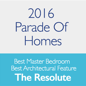 2016 Parade Of Homes Best Master Bedroom and Best Architectural Feature